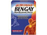 Bengay Pain Relieving Patch, Ultra Strength, Regular Size, 5-Count Patches