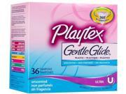 Playtex Gentle Glide 360? Unscented Tampons - Ultra: 36 Count