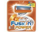 Gillette Fusion Power Razor Refill Cartridges 8 Count