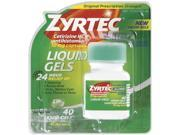 Zyrtec Liquid Gels, 40 Count