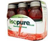Isopure Plus Drink Punch 6/8 Oz by Nature's Best/The Isopure Co. (1 Each)