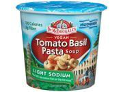 Dr. McDougall's Right Foods Vegan Tomato Basil Pasta Soup, Lower Sodium, 1.3-... 9SIAD245CB5173