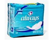 Always,Maxi Overnight With F/W Wipes -14 /Pack X 12Pk