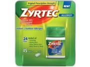 Zyrtec Allergy Relief (10 Mg), 45 Tablets