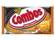 Combos Cheese Pretzel, Cheddar, 1.80 Oz Bags 18-count Single-serve (pack Of 2)