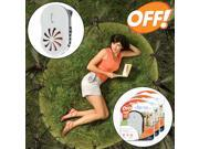 3 Off! Clip-On Mosquito Repellent Battery Powered Fan Circulated No Spray Insect