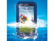 Waterproof Dirtproof Snowproof Case Cover for Samsung Galaxy S4 SIV i9500 - Blue
