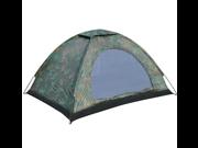 Folding Tent Waterproof Four Seasons Fiberglass Outdoor Camping Camouflage Hiking