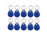 Wholesale 10pcs RFID Proximity Door Entry Key Fobs for Access Control System Keypad 125kHz EM4100 Rfid Proximity Id Card Token Tags Keyfobs