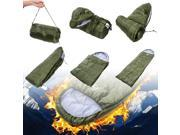 AGPtek 5F/-15C Mummy Sleeping Bag Camping Hiking With Carrying Case Brand New Sleep Bag