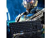 3 Color LED Backlight Illuminated Multimedia USB Gaming Keyboard For Gaming Enthusiasts 9SIV03X5530810