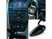 AGPtek® Wireless In-Car Bluetooth FM Transmitter, with USB Charging Port, Car Mp3 Player,Music Control, and Hands-Free Call for Smartphones iPhone 6S, 6Plus, Samsung Galaxy, iPad& More/Green Light
