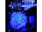 150 LED Icicle Light AGPtek Connectable/Extendable Christmas Lights Outdoor For Wedding Party Xmas Holiday New Year's Eve Blue