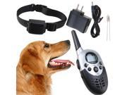 1000 Yard Rechargeable 4 Levels Waterproof LCD Shock Vibra Remote Pet Dog Training Collar