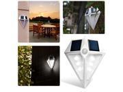 AGPTEK 6 Leds Waterproof LED Solar Light Lamps Solar Led Lights Garden Lights Outdoor Landscape Lawn Lamp Solar Wall Lamps Solar Lights