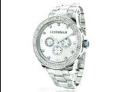Luxurman Diamond Watch 0.2ct New Arrival Mens Watches