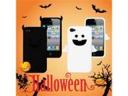 [ZIYA] iPhone-4S/ 4G Silicon Case -White Angel Case + Black Devil Case+ Screen Protector skin+ Candy Earphone