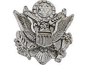 Us Army Lapel Pin in 14k White Gold