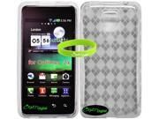 CrazyOnDigital Premium TPU Skin Case for LG Optimus 2x P990. CrazyOnDigital Brand Package. CrazyOnDigital Retail Package