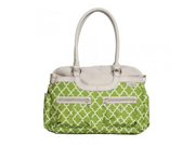 JJ Cole Satchel Diaper Bag Aspen Arbor