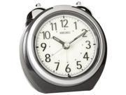 Seiko QXK118KLH Classic Bedside Alarm Clock