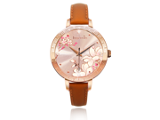 Ingenuity NCL0009-02 Engagement with Time - The Twelve-Month Flora Series Watch Collection - February