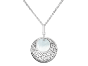 Ingenuity NCJ0015 The Heart of the Ocean - Morning Pearl - Sterling Silver Pendant