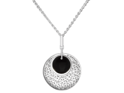 Ingenuity NCJ0014 The Heart of the Ocean - Shimmering Sea - Sterling Silver Pendant