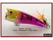 "Akuna Top Dog 2.4"" Popper Fishing Lure"