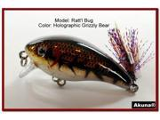 "Akuna Ratt'l Bug 2.6"" Crankbait Fishing Lure"