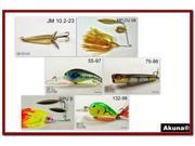 Image of Akuna Pack of 6 Crankbait Lures for Bass fishing in each of the 50 states