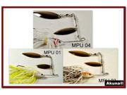 Akuna Pack of 3 Spinnerbait Lures for Bass fishing in each of the 50 states
