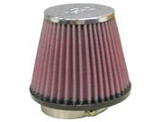 K&N RC-4490U Universal Chrome Filter 9SIA08C4RB3163