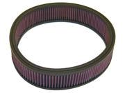 K&N Filters E-1535 Air Filter; Round; H-2 7/8 in.; ID-11 in.; OD-12.5 in.; 9SIA33D3524742