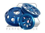 Ralco RZ 914905 Performance Pulleys-Blue