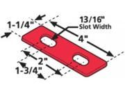 SPC 35012 Alignment Tandem Peterbilt Shims 18 Inch 6