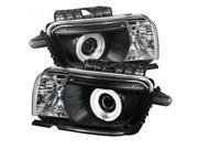 Spyder Auto PRO-YD-CCAM2010-CCFL-BK Projector Headlights Dual Halo...