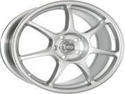 Enkei 468-880-8050SP FUJIN Tuning Series Wheel - Silver 18 x 8