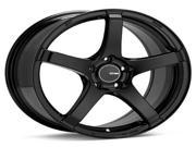 Enkei 476-885-1235BK KOJIN Tuning Series Wheel - Matte Black 18 x 85