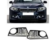 Fit 2010-up BMW F10 M-Tech Bumper Only 16W High Power LED Daytime Running Lights
