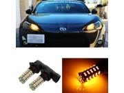 JDM Yellow 68-SMD 9005 LED For 2013 and up Scion FR-S High Beam Daytime Running Lights