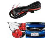 (1) 12V Horn Wiring Harness Relay Kit For Car Truck Grille Mount Blast Tone Horns (Actual Horn Not Included)