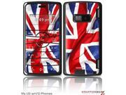 LG enV2 Decal Style Skin - Union Jack 01