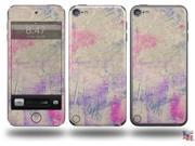 Pastel Abstract Pink and Blue Decal Style Vinyl Skin - fits Apple iPod Touch 5G (IPOD NOT INCLUDED)