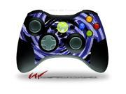 XBOX 360 Wireless Controller Decal Style Skin - Alecias Swirl 02 Blue - CONTROLLER NOT INCLUDED