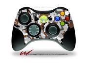 XBOX 360 Wireless Controller Decal Style Skin - Sexy Girl Silhouette Camo Brown - CONTROLLER NOT INCLUDED