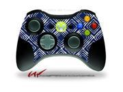 XBOX 360 Wireless Controller Decal Style Skin - Wavey Navy Blue - CONTROLLER NOT INCLUDED
