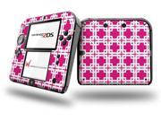 Boxed Fushia Hot Pink - Decal Style Vinyl Skin fits Nintendo 2DS