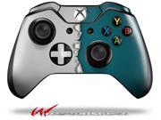 Ripped Colors Gray Seafoam Green Decal Style Skin fits Microsoft XBOX One Wireless Controller CONTROLLER NOT INCLUDED