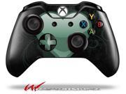 Glass Heart Grunge Seafoam Green Decal Style Skin fits Microsoft XBOX One Wireless Controller CONTROLLER NOT INCLUDED